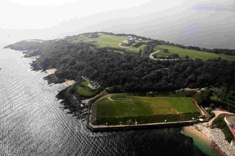 Falmouth Packet: Plan for luxury homes on Pendennis Headland