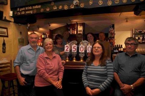 Falmouth Packet: Mawnan pub's cancer charity auction success