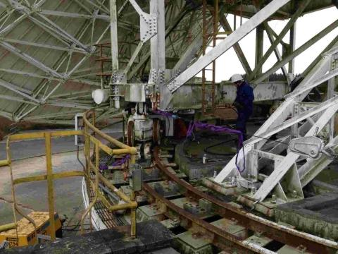 Goonhilly work to make Lancelot live again