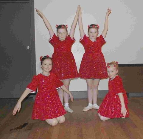 Falmouth dancers perform West End favourites