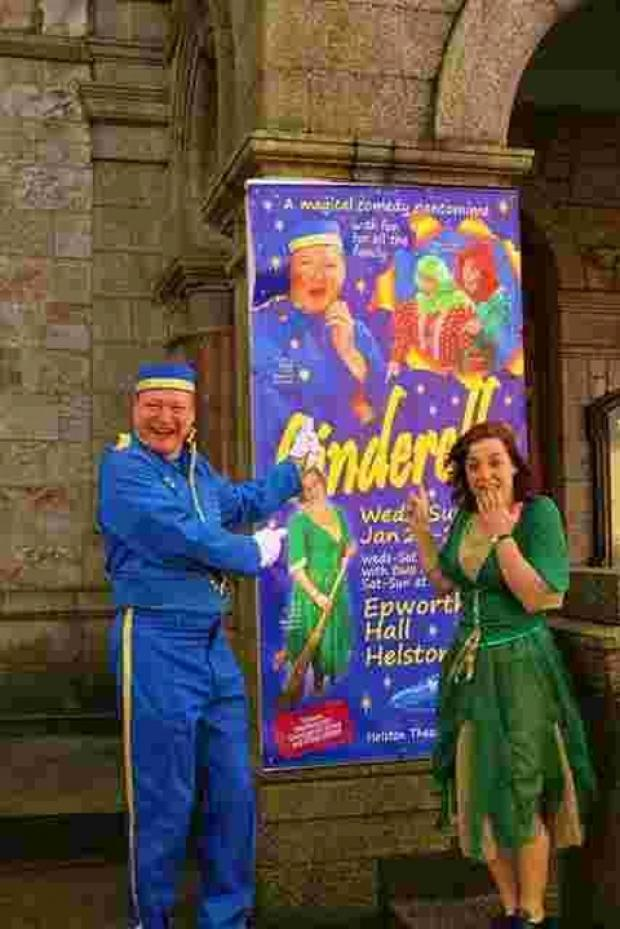 Sell out success for Helston's Cinderella panto