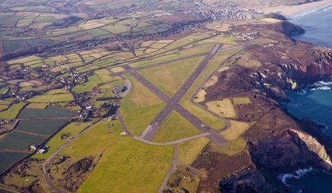Perranporth Airfield, which is ten miles from Newquay and 11 miles from Truro.
