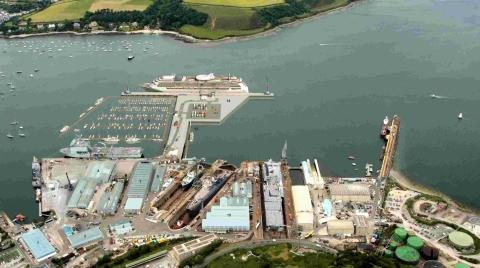 Marina dream at Falmouth docks has sunk, says A&P