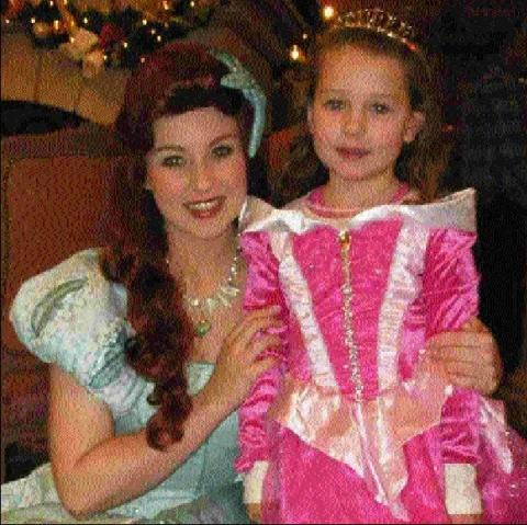 Five-year-old's princess dream comes true