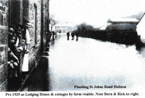 Helston flooding is nothing new: Look Back In Time