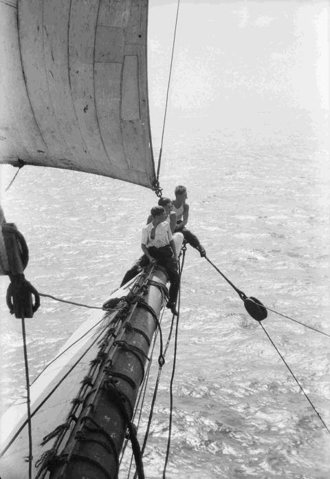 Life on an ocean wave: 1920's sailing pictures go on show