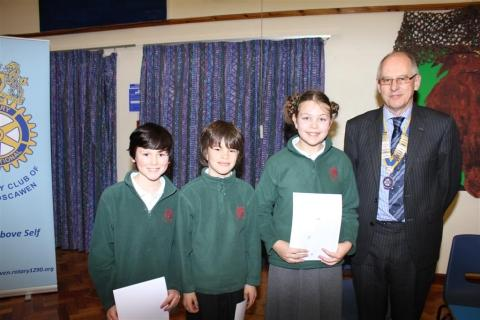 Devoran pupils take top spot in Truro Youth Speaks competition