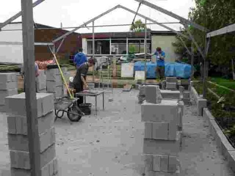 Helston students transform green house into barn