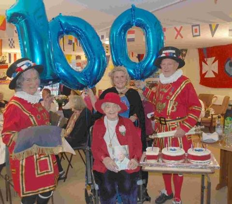 'Royal' celebration for Margaret's 100th birthday