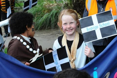Truro ready for St Piran's Day parade and celebrations