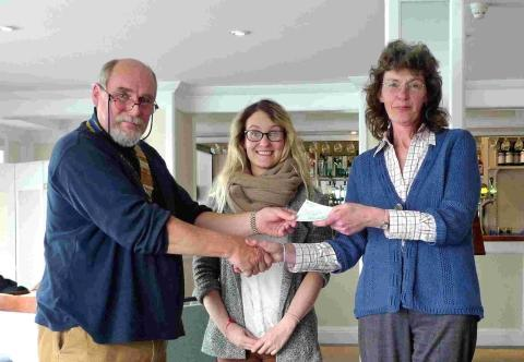 Falmouth Rotary hand over funds to help Kenyan project