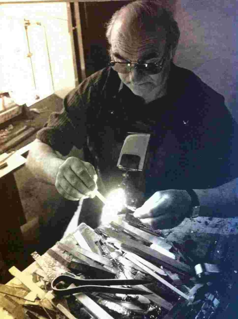 Obituary: Falmouth glass worker Cliff Miller