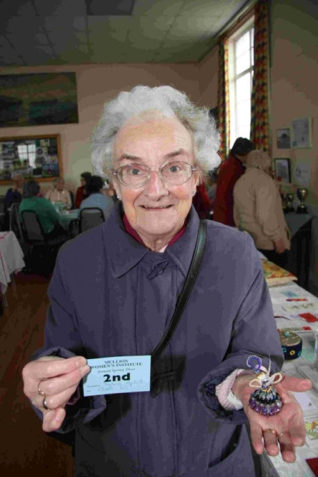 Falmouth Packet: Skills on display at Mullion WI Spring Show: PICTURES
