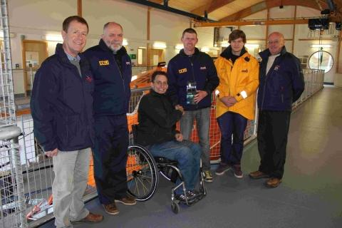 Snapper's waterproof camera donation to Lizard RNLI