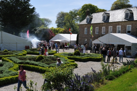 Fifth Easter food and craft fair at Trereife Hous