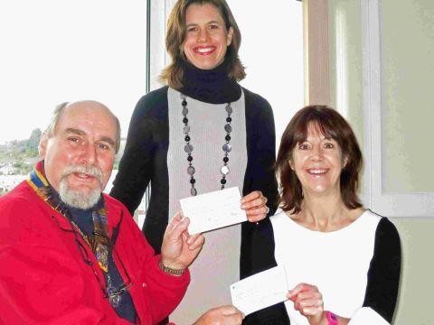 Rotary Club supports stroke charities