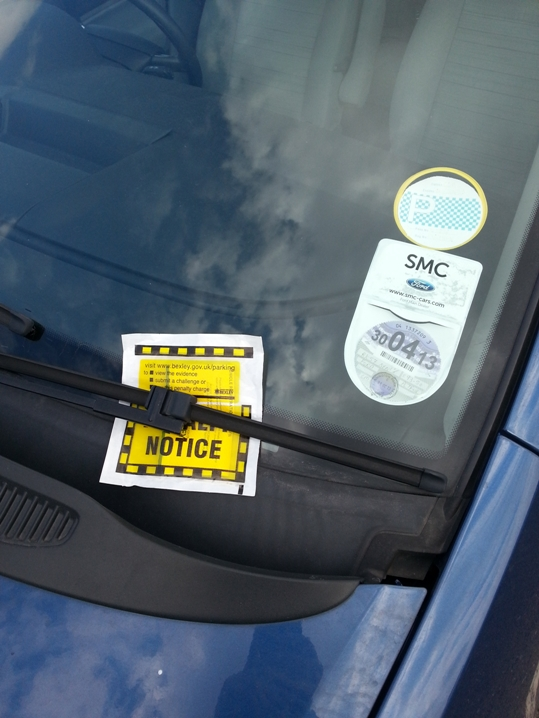 How many parking tickets were slapped on cars during Falmouth Tall Ships?