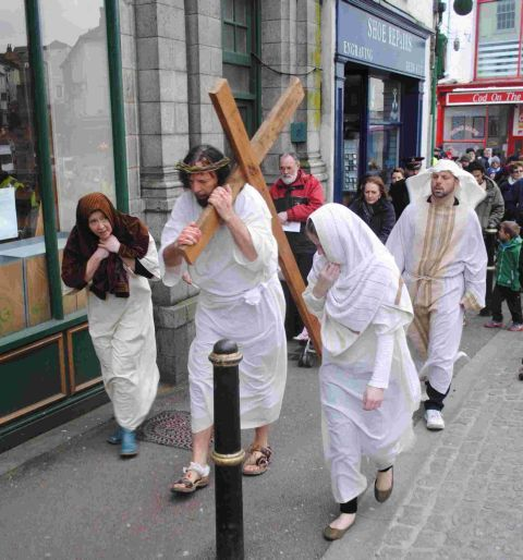 Falmouth Easter Walk of Witness