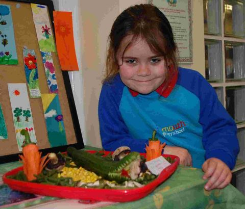 Growing skills at Falmouth Primary School spring show: PICTURES