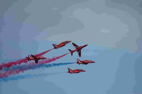 Red Arrows to make flying visit to Helston for Air Day