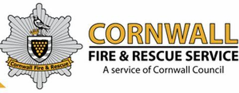 Derelict property fire in Camborne