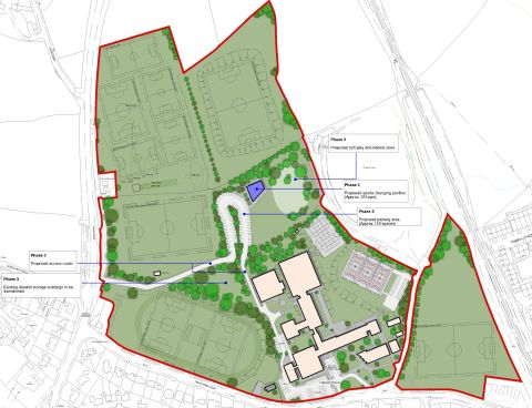 Budock Hospital site sports plan another step closer after deal between Falmouth School and NHS agreed