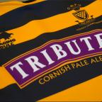 Falmouth Packet: The 2013 Cornwall RFU kit, sponsored by Tribute and made by Raging Bull