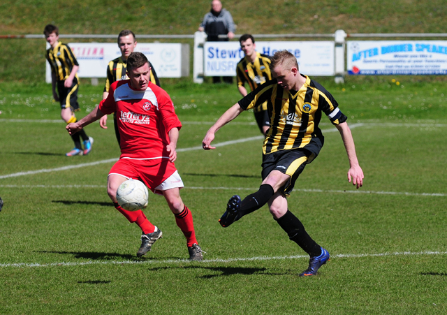 Tom Annear scored Port's opening goal away at Bude