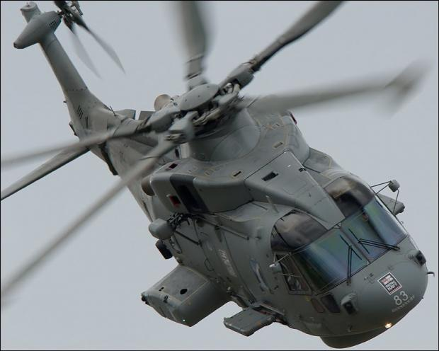 Culdrose helicopter makes emergency landing in West Cornwall field