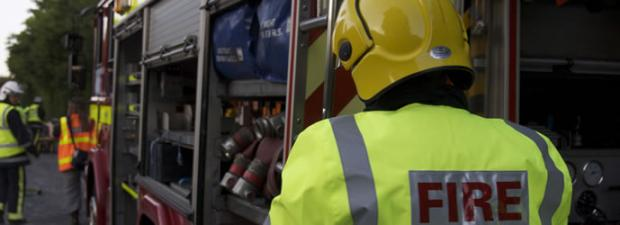 Crews tackle three story building blaze in Newquay