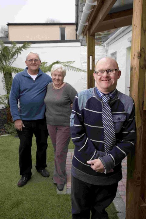 'Home sweet home' near family for Penryn disabled man