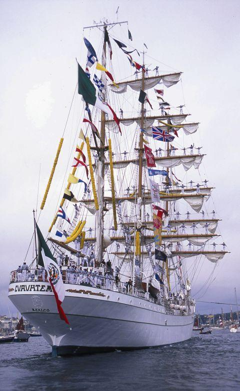 Falmouth dates for 2014 Tall Ships Regatta announced
