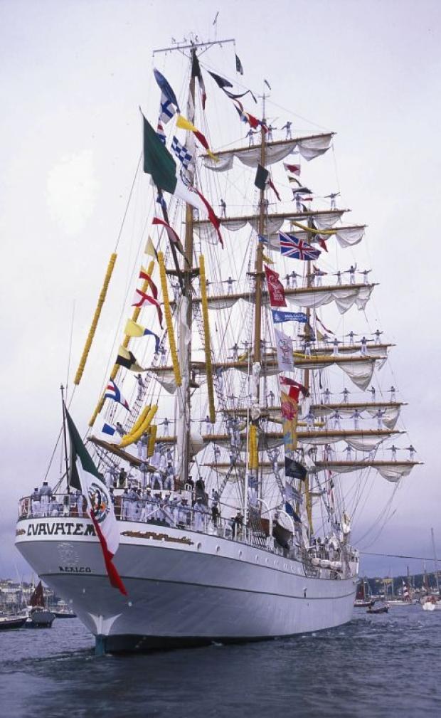 Falmouth Packet: Falmouth dates for 2014 Tall Ships Regatta announced