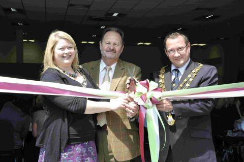 Falmouth Packet: Helston's 'New' Old Cattle Market celebrates first birthday