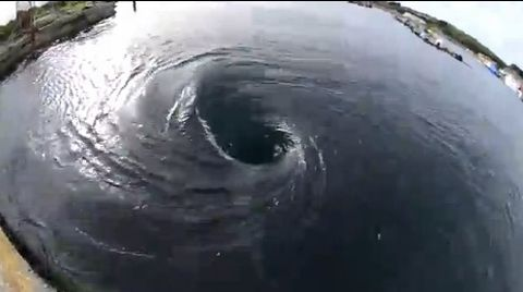 The Hayle whirlpool