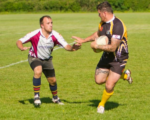 Falmouth Packet: RUGBY LEAGUE: Cornish Rebels win cup final rehearsal 50-20