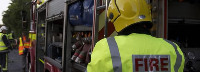 Crews tackle fire on board large fishing boat in Newlyn