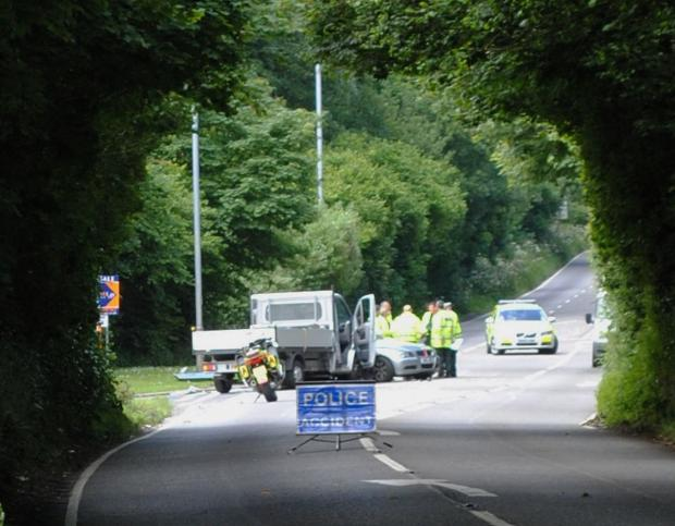 Falmouth Packet: B3292 Penryn Fatal Road Smash