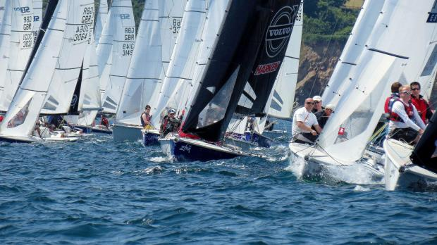 Royal Cornwall Yacht club hosts Zhik SB20 Open Championships