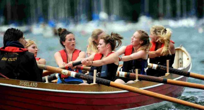 Crews will be taking to the waters again in their gigs as the first regatta of 2015 takes place in Helford