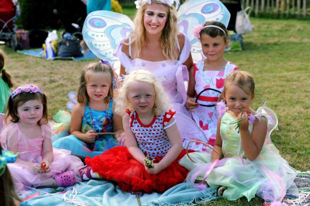 Penryn Fairy King and Queen competition tomorrow
