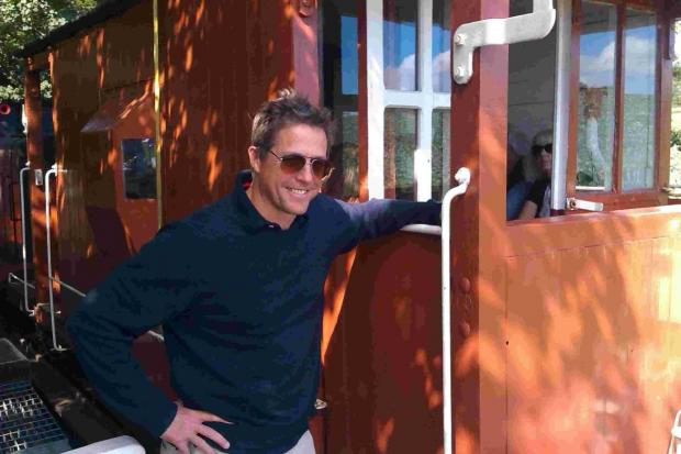 Hollywood heartthrob Hugh Grant side-tracked by railway row on Helston visit