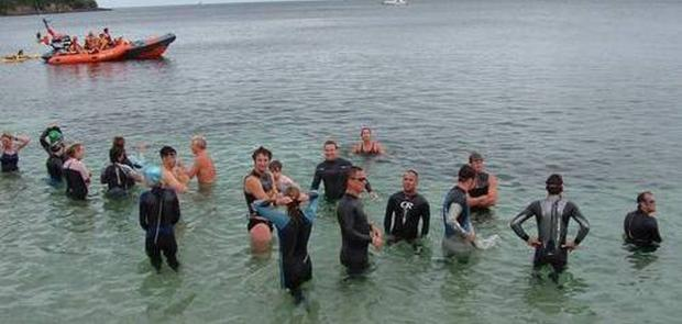Date set for Falmouth firefighters' Trident Challenge swim