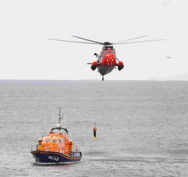 The Lizard lifeboat and RNAS Culdrose were involved in the operation. (Stock photo)