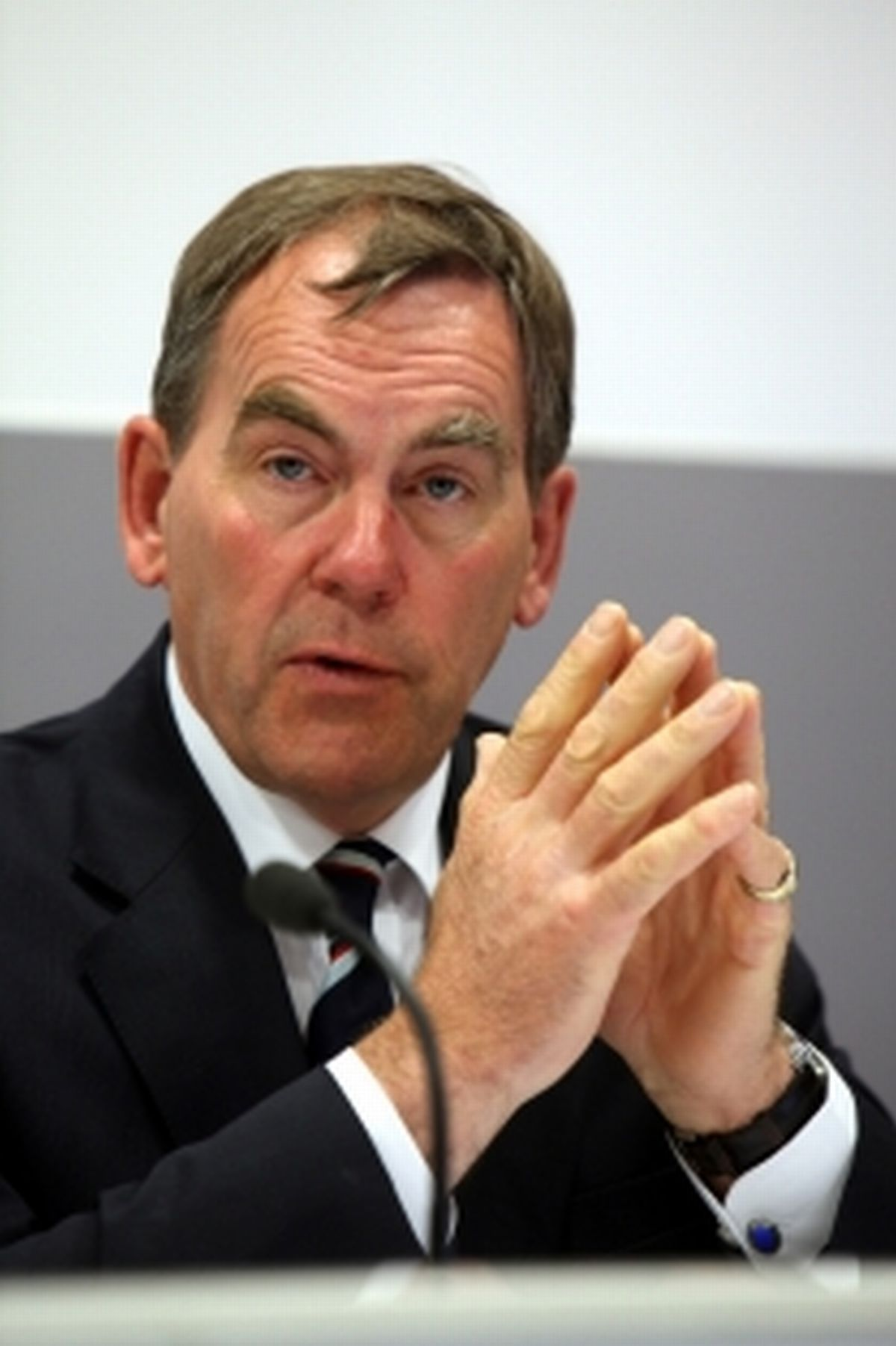 Tony Hogg, pictured when he was Police and Crime Commissioner, has been fined for speeding