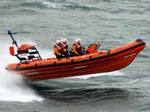 Woman plucked from sea off Roseland