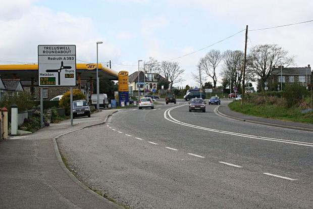 No funding for Treluswell roundabout plan