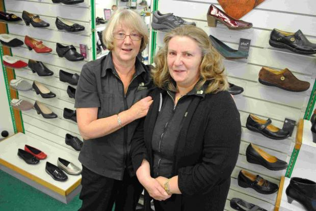 Sad day for Helston Clarks shoe shop staff as 72 years of service ends