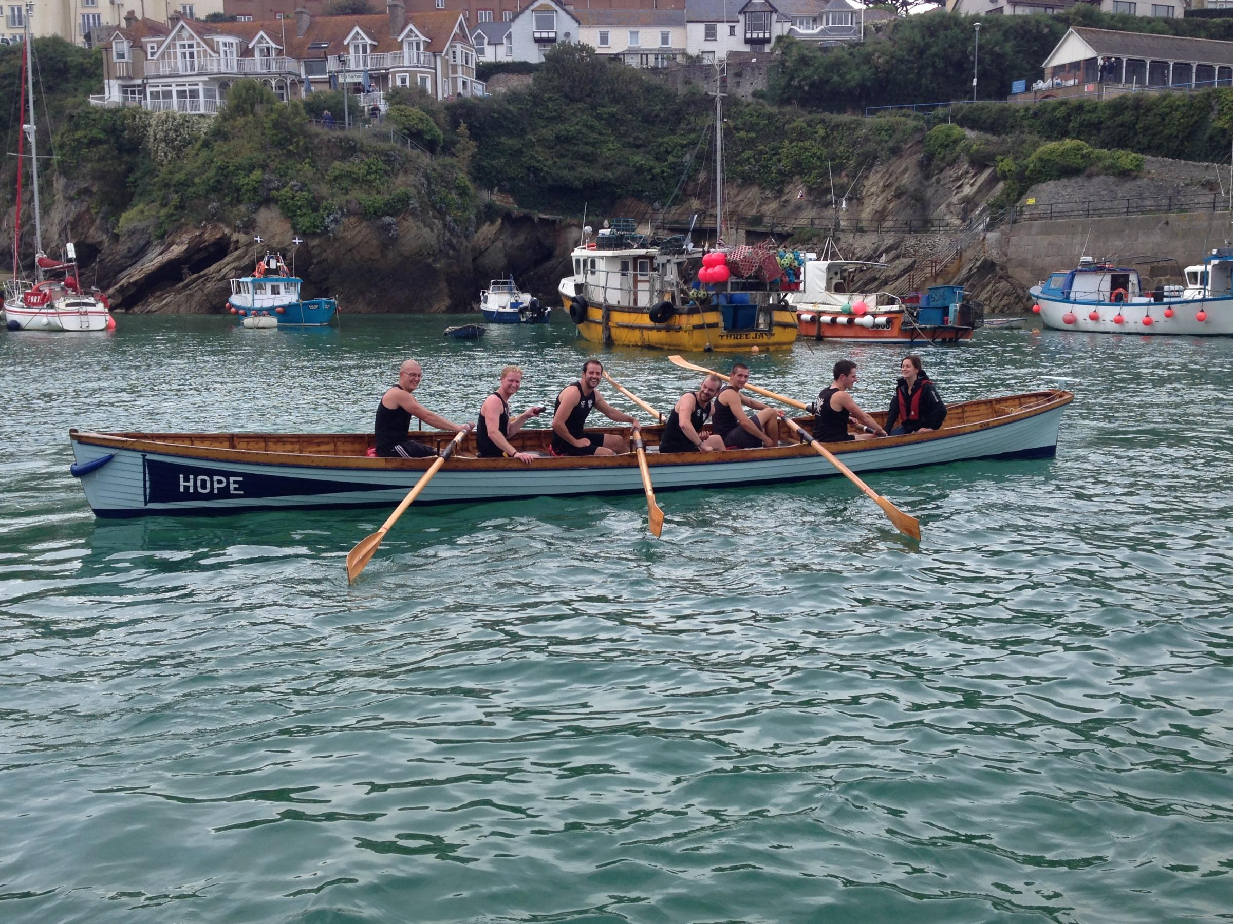 ROWING: Falmouth gig rowers looking to raise funds for new oars