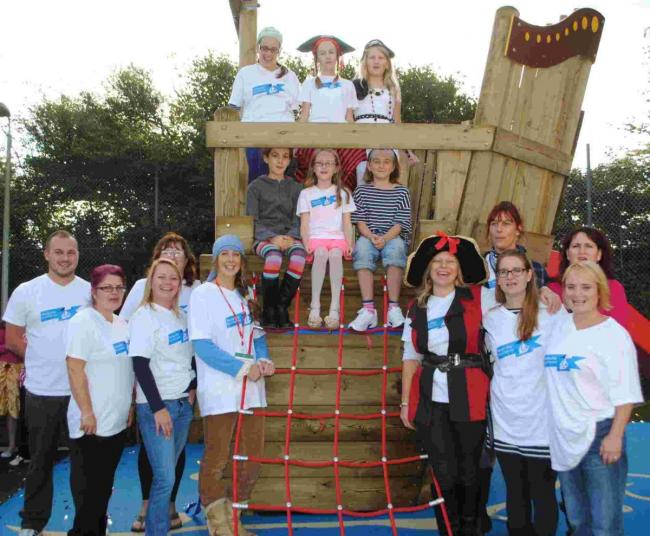 7dbc1c43d Pirate ship launched in memory of Chloe: PICTURES | Falmouth Packet
